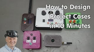 #258 Configurable Cases for your Projects (Arduino, ESP32 ...